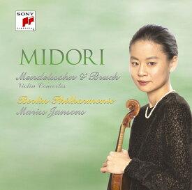 メンデルスゾーン:ヴァイオリン協奏曲 ブルッフ:ヴァイオリン協奏曲第1番 [ 五嶋みどり ]