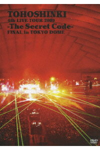東方神起/4th_LIVE_TOUR_2009〜The_Secret_Code〜FINAL_in_TOKYO_DOME〈2枚組〉