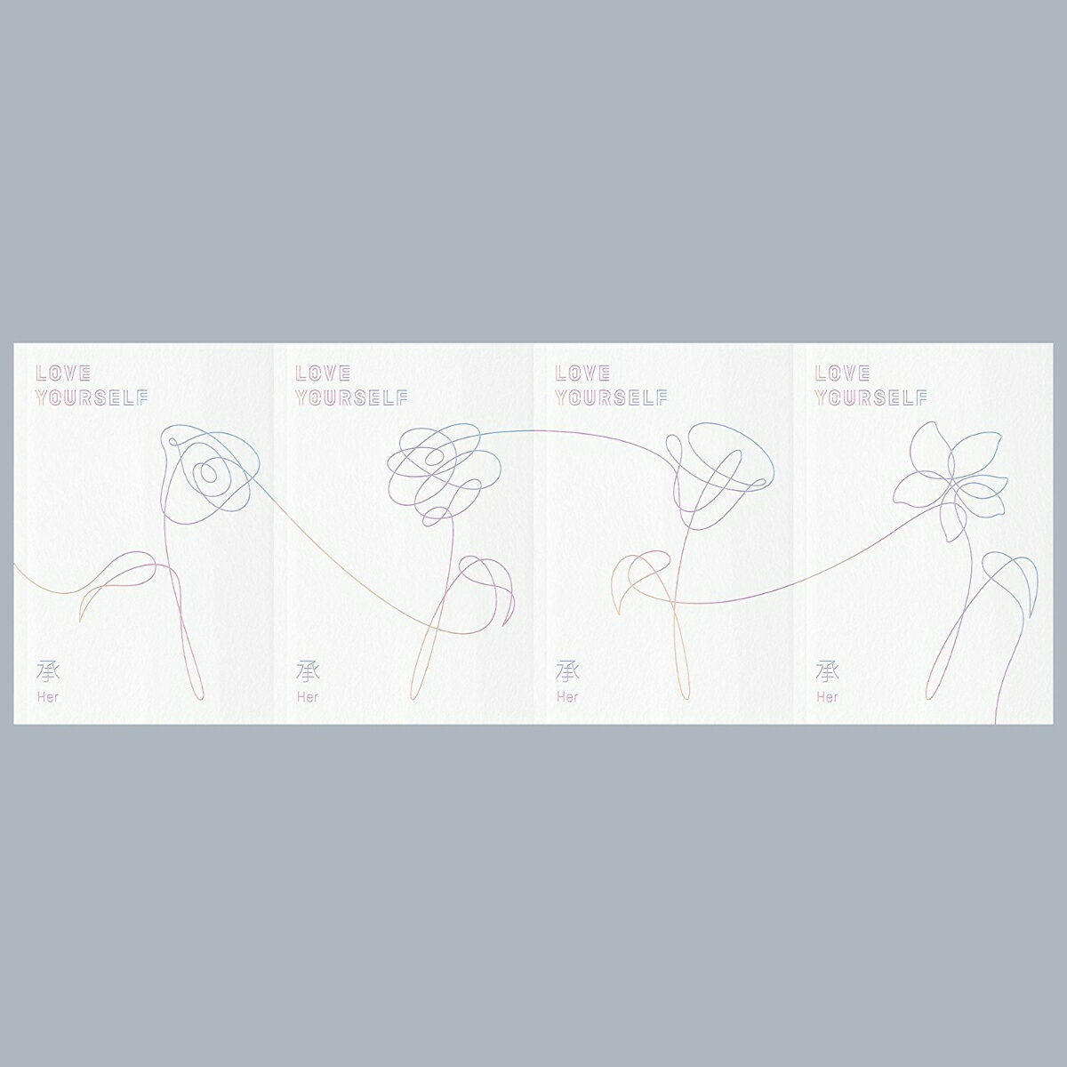 【輸入盤】5th Mini Album: LOVE YOURSELF 承 'Her' (ランダム・バージョン) [ BTS (防弾少年団) ]