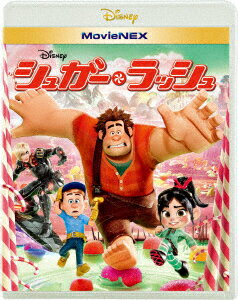シュガー・ラッシュ MovieNEX ブルーレイ+DVDセット [ ジョン・C.ライリー ]