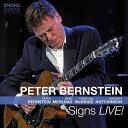 【輸入盤】Signs Live! (2CD) [ Peter Bernstein ]