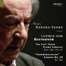 【輸入盤】ピアノ・ソナタ第30、31、32番(2013)、第29番(1976ライヴ) バドゥラ=スコダ(2CD)