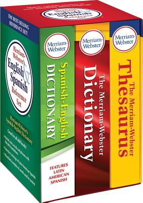 Merriam-Webster's English & Spanish Reference Set MERM WEB ENG & SPA REF SET-3CY [ Merriam-Webster ]