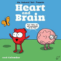 HeartandBrain2018WallCalendarCAL2018-HEART&BRAINWALL[NickSeluk]