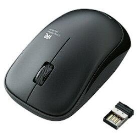 IRマウス/ENELOシリーズ/無線/3ボタン/省電力/ブラック