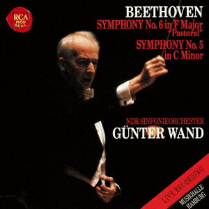ベートーヴェン:交響曲第5番「運命」 交響曲第6番「田園」 1992年ライヴ [ ギュンター・ヴァント ]