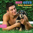 Hot Guys and Baby Animals 2018 Wall Calendar