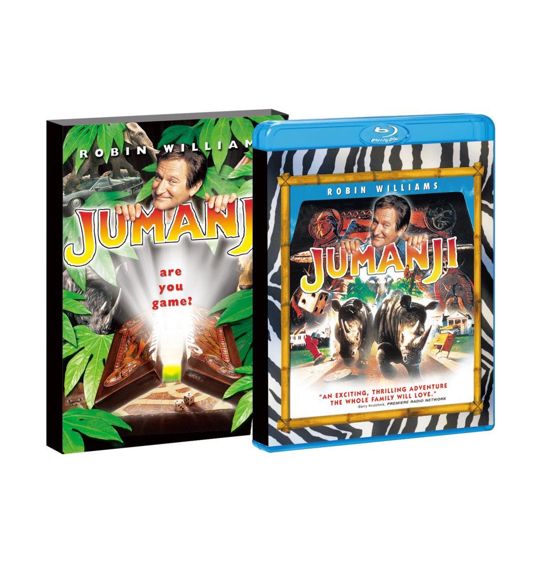 吹替洋画劇場 『ジュマンジ』製作20周年 デラックス エディション【初回生産限定】 【Blu-ray】 [ ロビン・ウィリアムズ ]