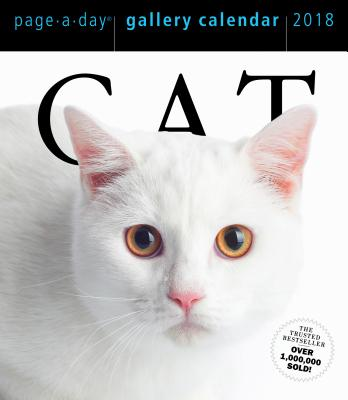 CATS GALLERY CALENDAR 2018(PAGE-A-DAY) [ WORKMAN PUBLISHING ]