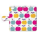 PL-BKI5-088 Plune×collaborn りんごたち 2 【iPhone SE/5/5s専用 Folio(手帳)ケース】