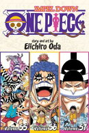 One Piece (Omnibus Edition), Vol. 19: Includes Vols. 55, 56 & 57