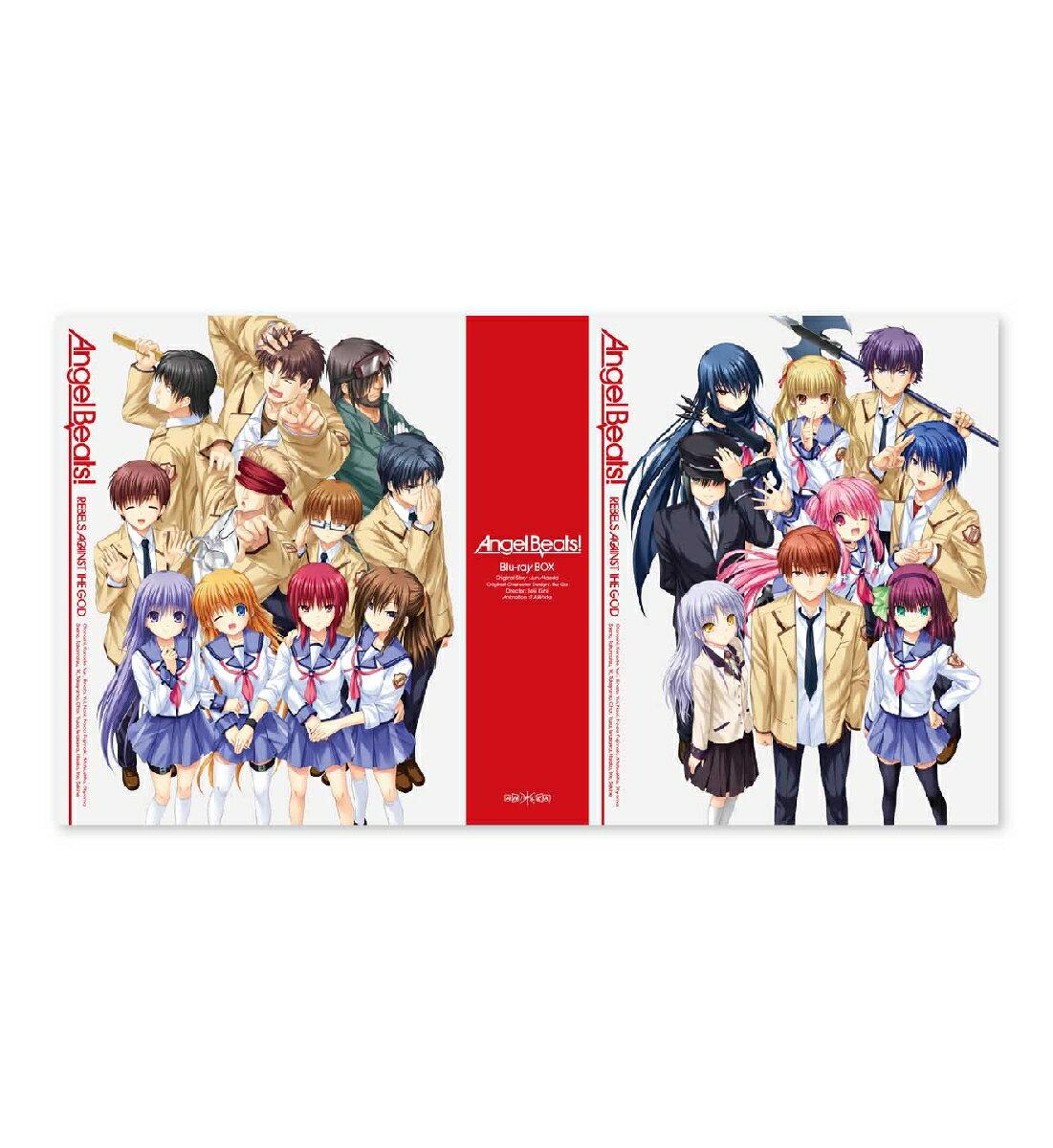 Angel Beats! Blu-ray BOX 【完全生産限定版】【Blu-ray】 [ 神谷浩史 ]