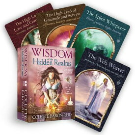 Wisdom of the Hidden Realms Oracle Cards [With Booklet] WISDOM OF THE HIDDEN REAL-TARO [ Colette Baron-Reid ]