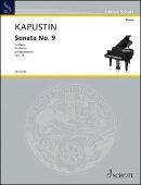 【輸入楽譜】カプースチン, Nikolai: ピアノ・ソナタ 第9番 Op.78