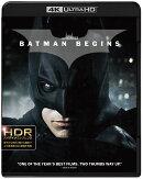 バットマン ビギンズ(4K ULTRA HD+ブルーレイ)(3枚組)【4K ULTRA HD】