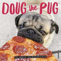 Doug the Pug Mini 2019 Wall Calendar (Dog Breed Calendar)