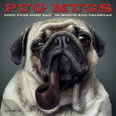 Pug Mugs Mini 2019 Wall Calendar (Dog Breed Calendar)