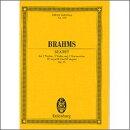 【輸入楽譜】ブラームス, Johannes: 弦楽六重奏曲 第1番 変ロ長調 Op.18