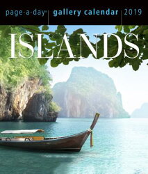 Islands Page-A-Day Gallery Calendar 2019