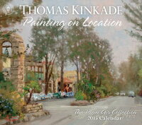 ThomasKinkadePaintingonLocation2015DeluxeWallCalendar:ThePleinAirCollection[ThomasKinkade]