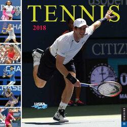 Tennis the U.S. Open 2018 Wall Calendar: The Official Calendar of the United States Tennis Associati