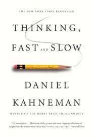 Thinking, Fast and Slow THINKING FAST & SLOW [ Daniel Kahneman ]