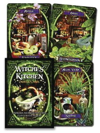 Witches' Kitchen Oracle Cards WITCHES KITCHEN ORACLE CARDS [ Barbara Meiklejohn-Free ]