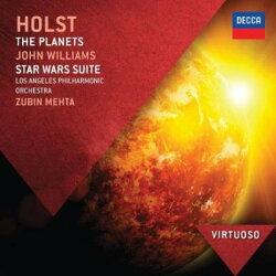 【輸入盤】 ホルスト:『惑星』、ウィリアムズ:『スター・ウォーズ』組曲 メータ&ロサンジェルス・フィル