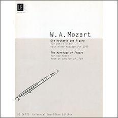 【輸入楽譜】モーツァルト, Wolfgang Amadeus: オペラ「フィガロの結婚」より