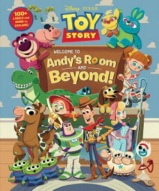 Toy Story: Welcome to Andy's Room & Beyond! TOY STORY WELCOME TO ANDYS ROO [ Disney Book Group ]