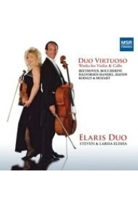 【輸入盤】DuoVirtuoso-worksForViolin&Cello:ElarisDuo[Duo-instrumentsClassical]