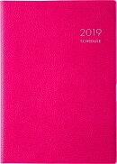 2019年版 1月始まり No.442 T'ファミリー手帳2 ベリーレッド