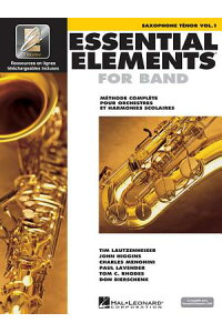 EssentialElementsEe2000TenorSaxophone:FrenchEdition
