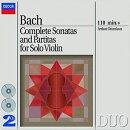 【輸入盤】無伴奏ヴァイオリンのためのソナタとパルティータ全曲 グリュミオー(2CD)