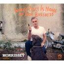 モリッシー/ワールド・ピース・イズ・ノン・オブ・ユア・ビジネス〜世界平和など貴様の知ったことじゃない(2CD)