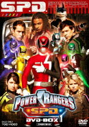 POWER RANGERS S.P.D. DVD-BOX 1