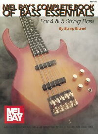MelBay'sCompleteBookofBassEssentials:For4&5StringBass[WithDVD]