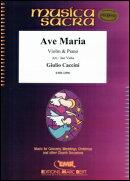 【輸入楽譜】カッチーニ, Giulio: アヴェ・マリア/バイオリンとピアノのための編曲/Valta編