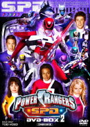 POWER RANGERS S.P.D. DVD-BOX 2