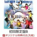 【楽天ブックス限定先着特典】BOYMEN the Universe (初回限定盤B CD+DVD)(トレーディングカード)