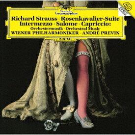 R.シュトラウス:楽劇≪ばらの騎士≫組曲 <サロメの踊り><月の光の音楽>他 [ アンドレ・プレヴィン ]