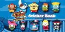 Street Fighter X Sanrio Sticker Book [With Stickers]