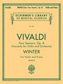 【輸入楽譜】ヴィヴァルディ, Antonio: バイオリン協奏曲 F.I, N.25 Op.8/4 「四季」より 冬(バイオリンとピアノ)/…