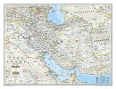 National Geographic: Iran Classic Wall Map (30.25 X 23.5 Inches)