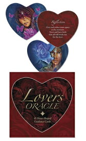 Lovers Oracle: Heart-Shaped Fortune Telling Cards LOVERS ORACLE [ Toni Carmine Salerno ]