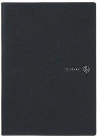 ESダイアリー2019年 4月始まり  A5 レフト ネイビー ([日記・手帳])