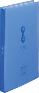 クリアーファイル ヒクタス 透明 スティックタイプ A4 60P 青 7181-3Tアオ (文具(Stationery)) [ クリアファイル ]