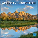 2019 American Landscapes 16-Month Wall Calendar: By Sellers Publishing