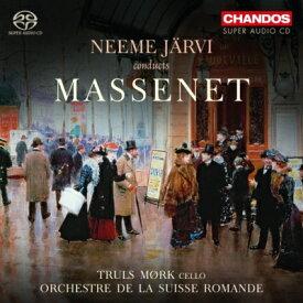 【輸入盤】絵のような風景、『ル・シッド』バレエ組曲、チェロ幻想曲、他 ネーメ・ヤルヴィ&スイス・ロマンド管、モルク [ マスネ(1842-1912) ]