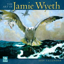 2019 the Art of Jamie Wyeth 16-Month Wall Calendar: By Sellers Publishing